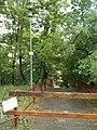 Lamp post and closed street stairs, Balogh lejtő, 2019 Szentimreváros.jpg
