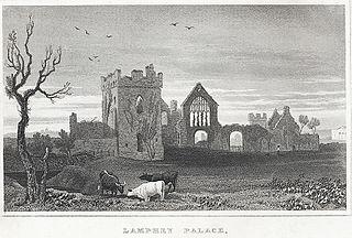 Lamphey Palace, Pembrokeshire