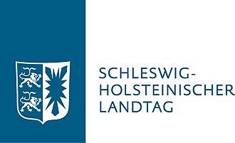 Landtag of Schleswig-Holstein - Image: Landtag SH M OL Blau RGB