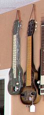 Lap steel guitars (Slingerland, etc), Cowtown Guitars.jpg
