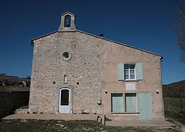 Largarde d Apt church by JM Rosier.JPG