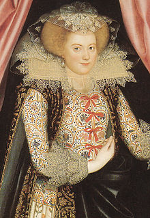 Jacobean embroidery style of embroidery