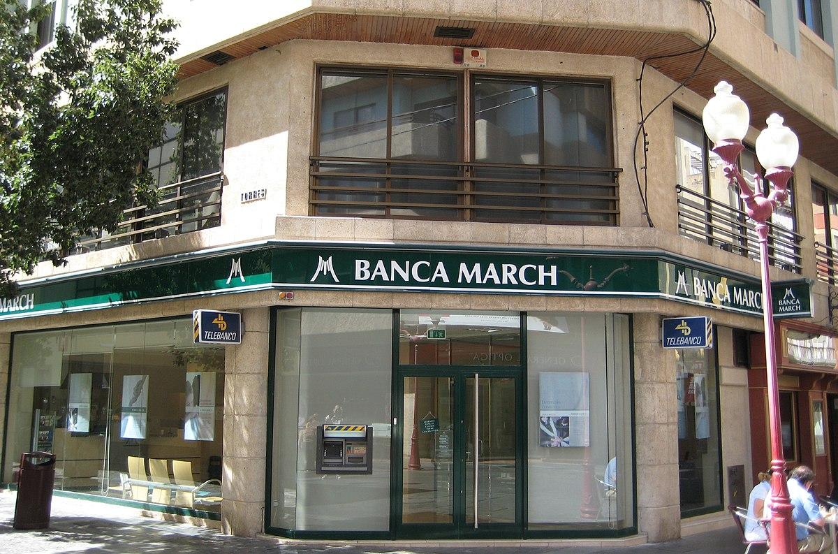 Banca march viquip dia l 39 enciclop dia lliure for Oficinas banca march palma