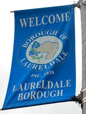 Laureldale, Pennsylvania - Welcome Sign