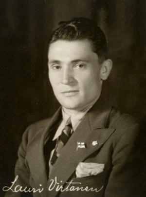 Lauri Virtanen - Lauri Virtanen in 1932