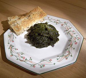 Laver (seaweed) - Laver and toast