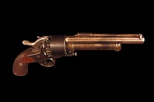 LeMat Revolver - Image: Le Mat revolver IMG 0822 black