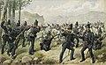 Le 95th Rifles lors de la bataille des Pyrénées, 1813.jpg