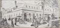 Le Marché de la Vallée, Pais juin 1867 by Alphonse Trimolet.png