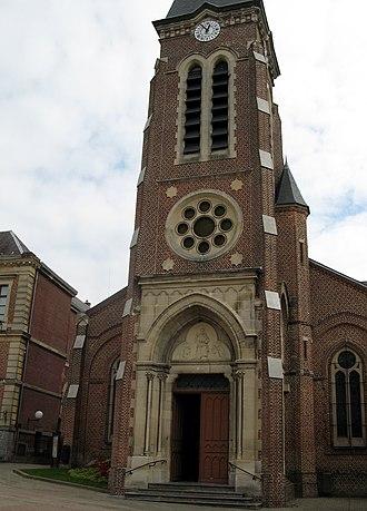 Le Nouvion-en-Thiérache - The church of Le Nouvion-en-Thiérache