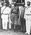 Le lieutenant de vaisseau Destremau et son état major à Papeete en 1914.jpg