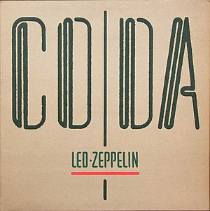 Coda (album) - Image: Led Zeppelin Coda