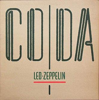 Coda (album) - Image: Led Zeppelin Coda