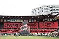 Legends never sleep tifo Portland Timbers vs Seattle Sounders 2016-07-17 (28274360402).jpg