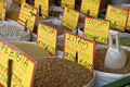 Legumes and wheat in an Athens Market.jpg