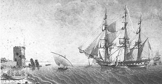French frigate <i>Égyptienne</i> (1799) ship