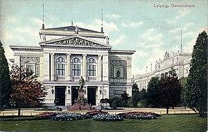 Gewandhaus - Image: Leipzig Konzerthaus ca 1910