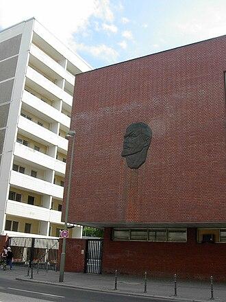 East Berlin - Image: Lenindecoration