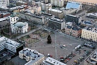 Hämeenlinna City in Tavastia Proper, Finland