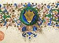 Leonardo bruni, traduzione delle epistole di platone, firenze 1450-75 ca. (bml, strozzi 65) 04 stemma gondi.jpg