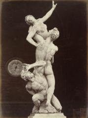 The Rape of the Sabines by Giovanni Bologna, Loggia Dei Lanzi, Florence