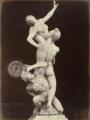 Leopoldo and Guiseppe Alinari, The Rape of the Sabines by Giovanni Bologna, Loggia Dei Lanzi, Florence, c. 1865, Albumen silver print, 57.6 x 43.3 cm, MoMA, 570.1990.png