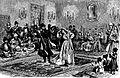 Lesginka, a national dance in Georgia (Roskoschny, 1884).JPG