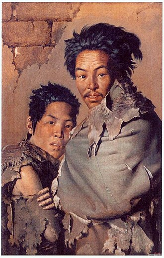 Lev Igorev - Chinese Beggars in the Cold