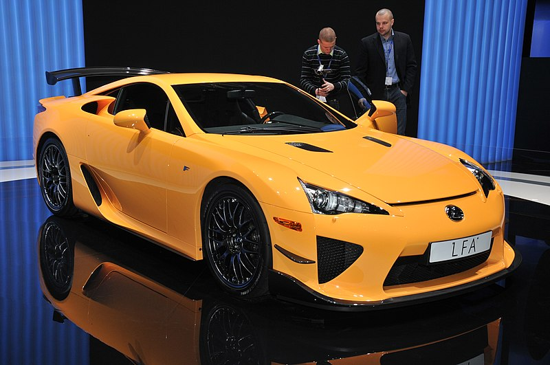 File:Lexus LFA Nürburgring Package at the 2011 Geneva Motor Show.jpg