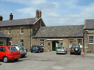 Leyburn railway station - Leyburn station entrance