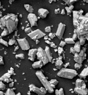 Lithium aluminium hydride - SEM image of LAH powder