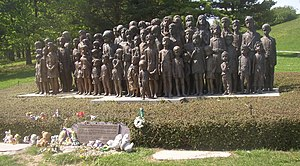 Kurt Daluege - Memorial in the Czech Republic to children of Lidice murdered on Daluege's orders