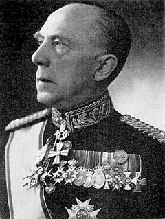 Folke Högberg Swedish Lieutenant General