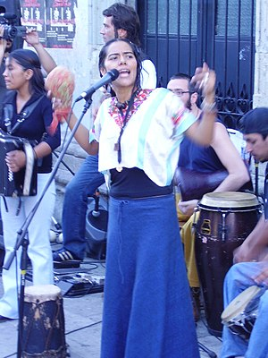 Lila Downs - Lila Downs in Oaxaca in 2006