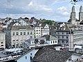 Limmat View from Lindenhof hill, Zurich (Ank Kumar) 04.jpg