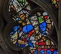 Lincoln Cathedral, Bishop's eye window detail (S.35) (27341195991).jpg