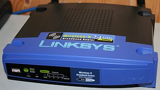 High-speed multimedia radio - A typical piece of equipment used for HSMM (Linksys WRT54G)