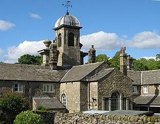 Linton, North Yorkshire - Image: Linton almshouses