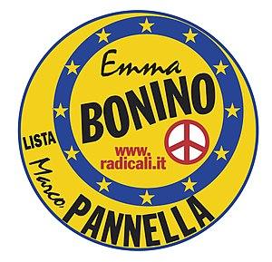 Bonino-Pannella List - Image: Lista Bonino Pannella logo 2009