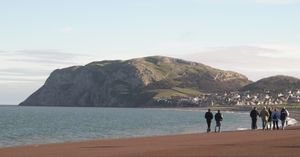 Little Orme - The Little Orme from Llandudno Promenade, January 29, 2005