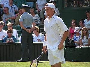 Lleyton Hewitt - Lleyton Hewitt at Wimbledon, 2004