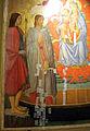 Lo scheggia, madonna col bambino tra i santi sebastiano, lazzaro, maddalena e marta, 1440-50 ca. 04.JPG