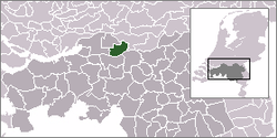 Location of Aalburg