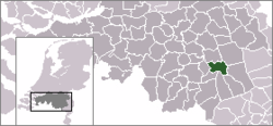 Location of Helmond