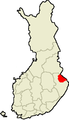 Location of Lieksa in Finland.png