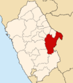 Location of the province Huari in Ancash.PNG