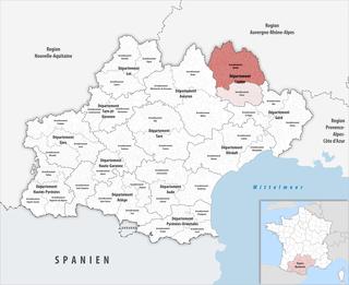 Arrondissement of Mende Arrondissement in Occitanie, France