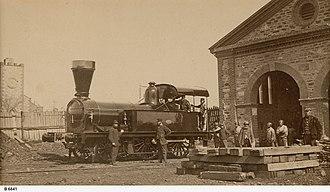 South Australian Railways E class - E14 in August 1865