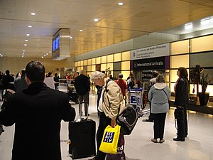 The International Arrivals Hall at Boston Loga...
