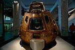 London - Exhibition Road - The Science Museum 1919-28 by Sir Richard Allison - 'Making the Modern World' - Apollo 10 Capsule 1969.jpg
